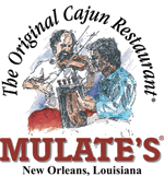 Mulate's New Orleans Cajun Restaurant Sticky Logo