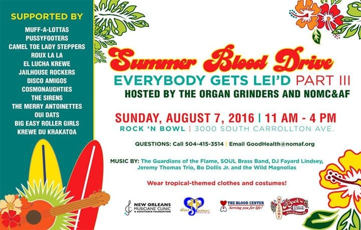 Hawaiian-themed-Blood-Drive