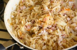 Smotthered Cabbage