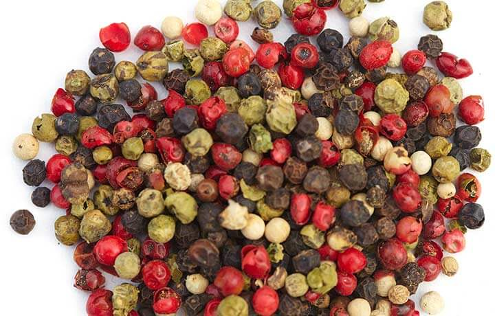 What is the difference between red and black pepper